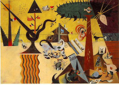 Joan Miro. Tilled Field
