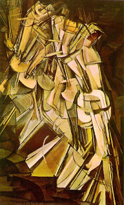 Duchamp. Nude Descending a Staircase, No.2 (1912)