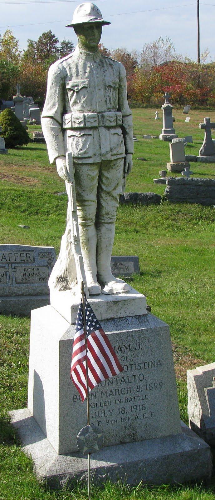 Schuylkill County Pennsylvania Military History  THE LONE DOUGHBOY