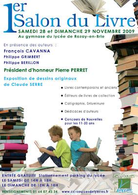Provinois bass e montois 1er salon du livre de rozay en for Salon du livre france