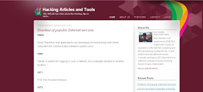 Hacking Articles and Tools