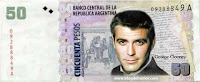 El billete de George Cloney