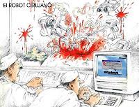 humor: El robot cirujano