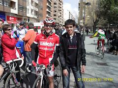 Otro de los ciclistas