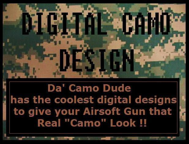 Digital Camo Design