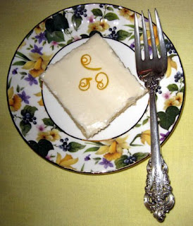 Delightful Repast: Quick and Easy Meyer Lemon Sheet Cake