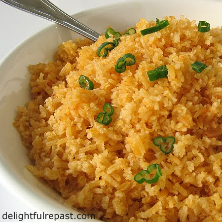 Mexican Rice - Sopa de Arroz