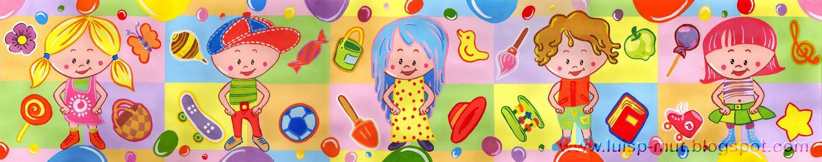 Cenefas para infantiles imprimibles y moldes gratis - Cenefas decorativas para imprimir ...