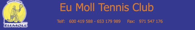 Ei Moll Tennis Club-Enlaces