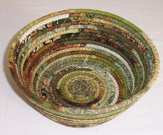 clothesline fabric bowl