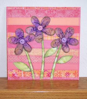 flower paper quilt