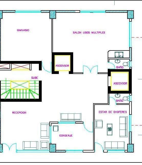 Residencial villa de bilbao residencial villa de bilbao for Planos de oficinas administrativas