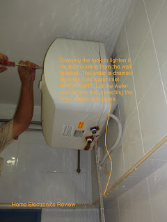 how to find out who your hot water tank is