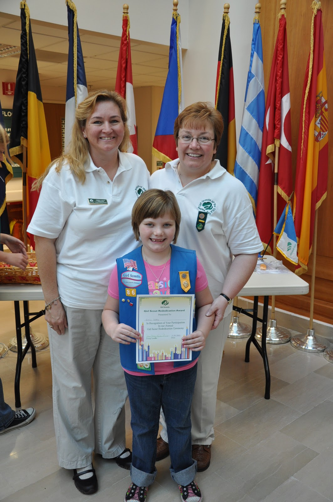 The Solley S In Italy Daisy Investiture Ceremony