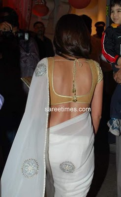 Saree Blouse Designs and Patterns 2011 For Front and Back