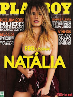 Natlia bbb8 pelada Playboy