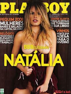 Natália bbb8 pelada Playboy