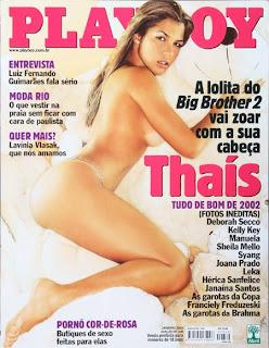 Thaís Ventura bbb2 Playboy