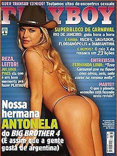 Antonela bbb4 Playboy
