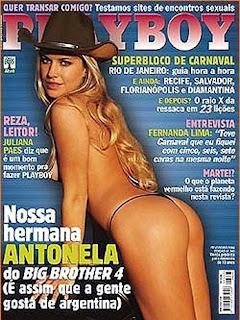 Antonela bbb4 Playboy