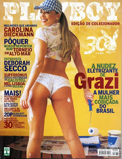 Grazi Massafera pelada Playboy