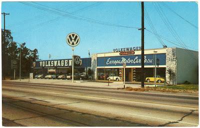 Vw Vw1500 Europa Motor Car Co North Hollywood C 1964