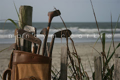 Golf Bag and Clubs at the Beach 1
