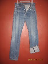 "Used Levi's 501 big ""E"" and Red Line"