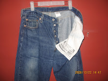 Used Levi's 501 jeans xx