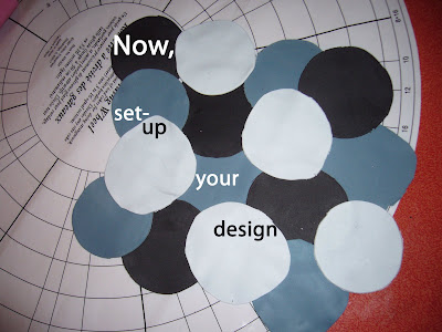 Now, set-up your design.