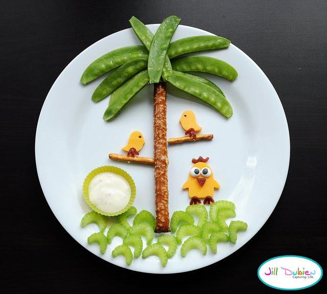 Pratos criativos para as crian as blog de decora o fa a for Piani casa bagno jill e jill