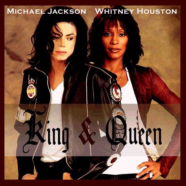 Publicado por Mr MigeWhitney Houston And Michael Jackson Kissing