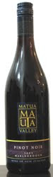 1331 - Matua Valley Pinot Noir 2005 (Tinto)