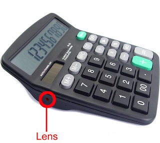 calculator spy gadget