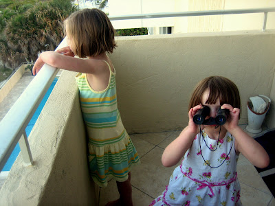 Binoculars, Upside Down