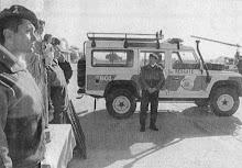Áño 1996- Entrega de móvil 801 Land Rover