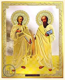 Prietenii Mantuitorului, Apostolii cei Sfinti Petru si Pavel