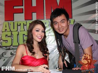 fhm philippines autograph signing, paloma fhm autograph