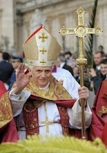 Let us pray for Benedict XVI, our Pope.