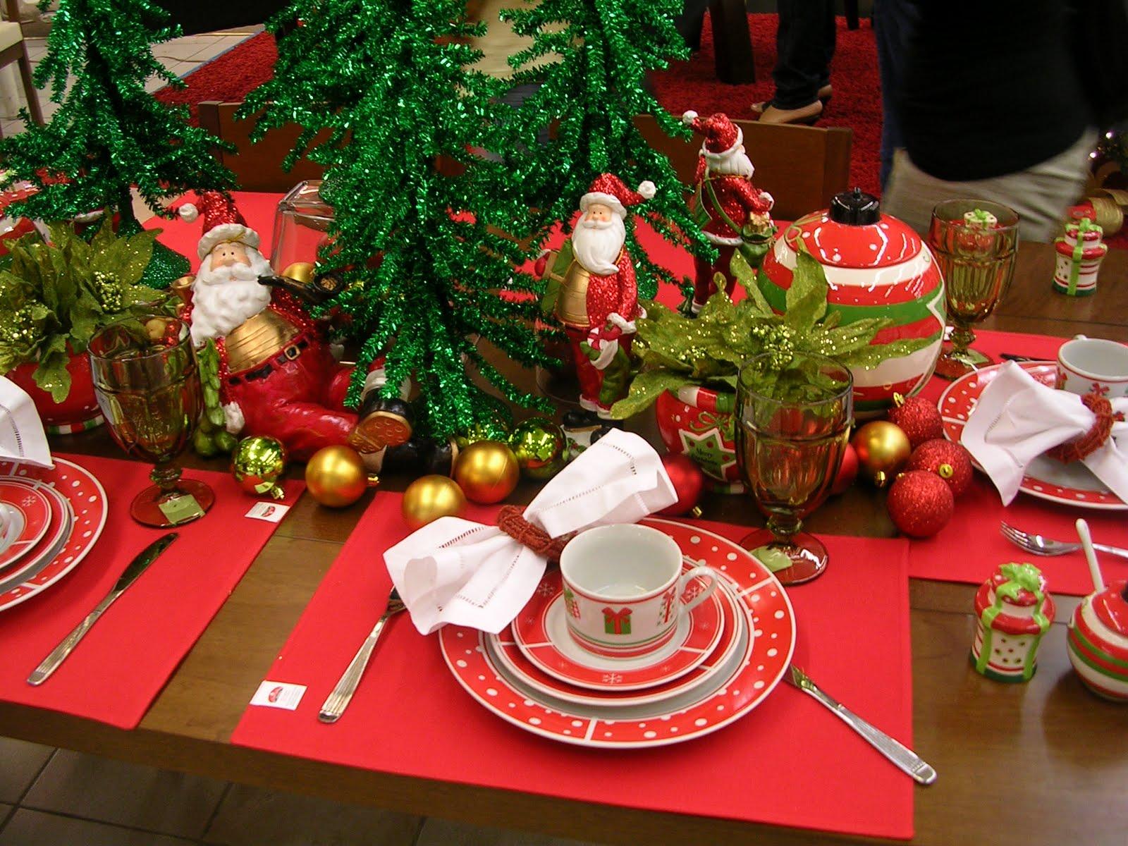 Navidad Decoracion Mesa ~ Por lo visto en estas decoraciones no utilizan mantel y su lugar