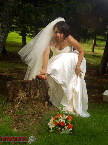 Magdelyn al d a nuestra boda secci n de fotos en el for Boda en el jardin botanico
