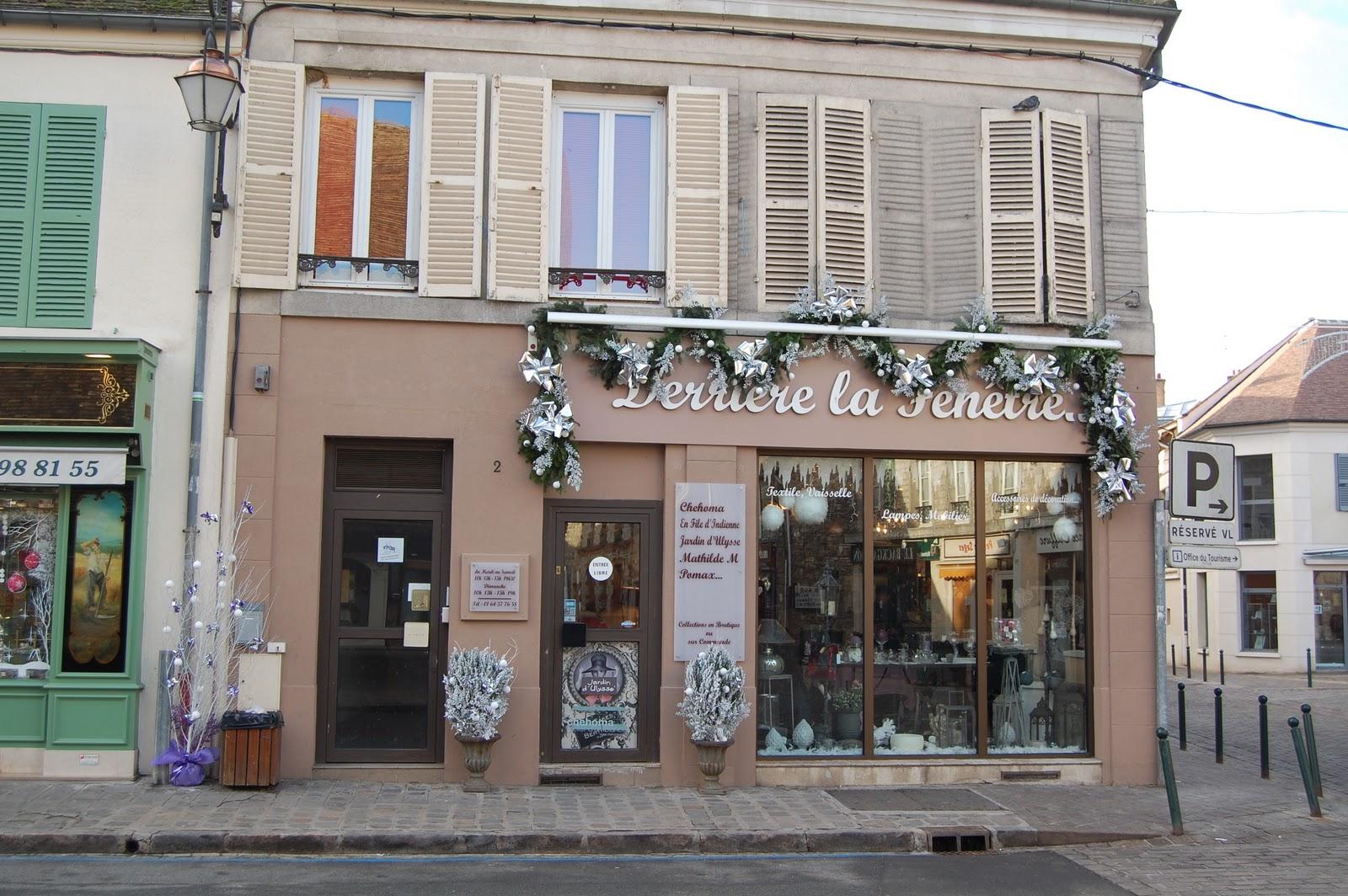 Histoire des commerces de milly la foret n 2 place du for Histoire de la fenetre