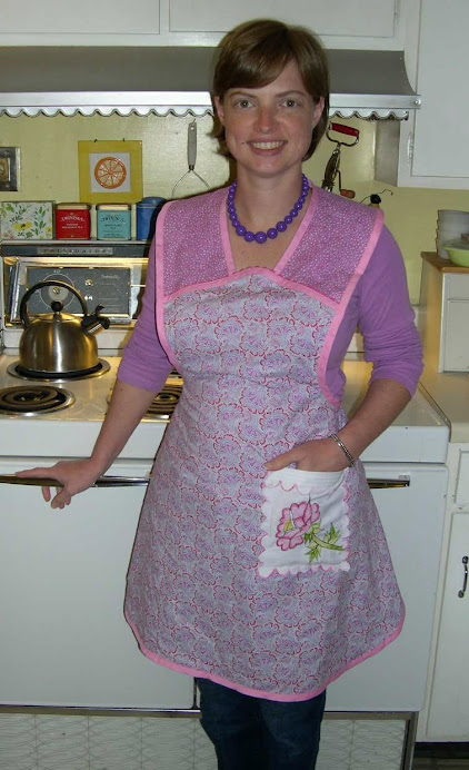 New repurposed apron.
