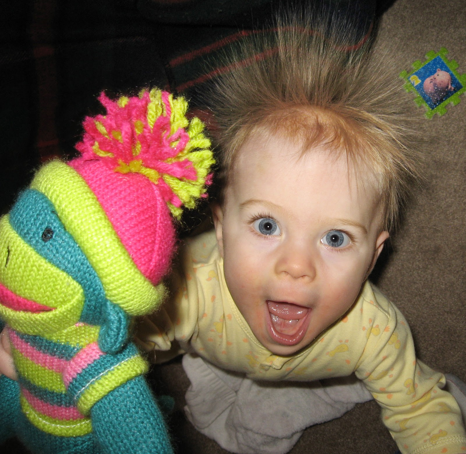 static electricity hair #B81340
