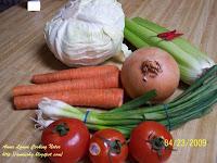 七菜湯材料