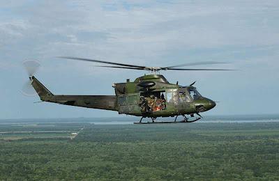 Merupakan varian bell 412ep milik militer kanada. (foto: wikipedia