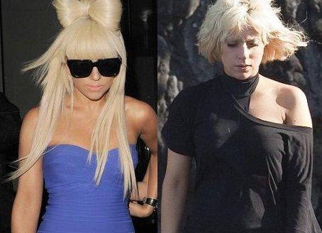 Cantora Lady Gaga SEM MAQUIAGEM