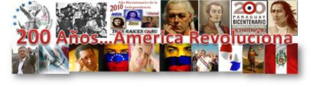 América Bicentenaria y Revolucionaria