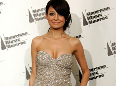 Nicole Richie Reveals full breasts