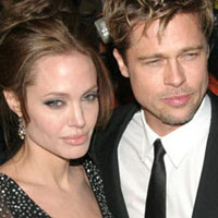 Brad Pitt And Angelina Jolie Take A Break